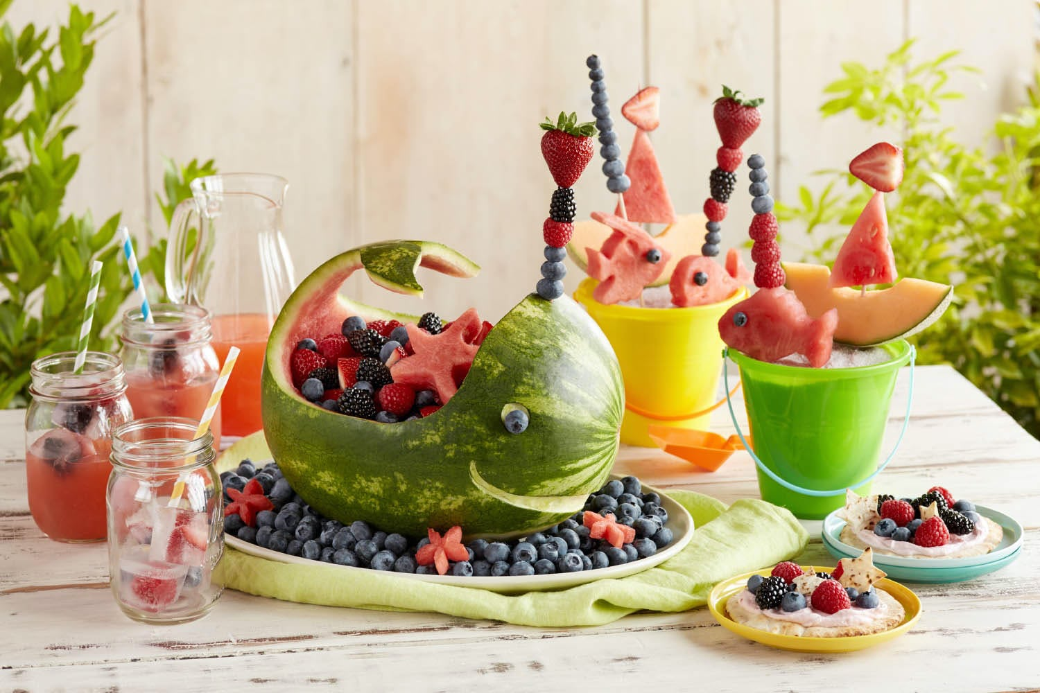 Splash Into Summer With A Berry Beach Party