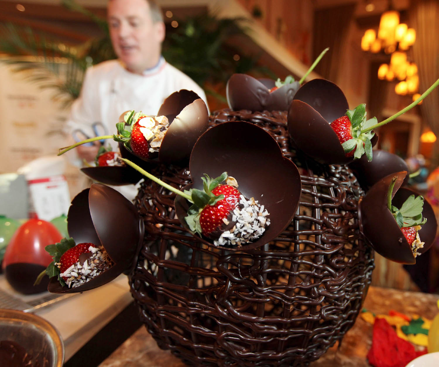 The Perfect Chocolate Covered Strawberry