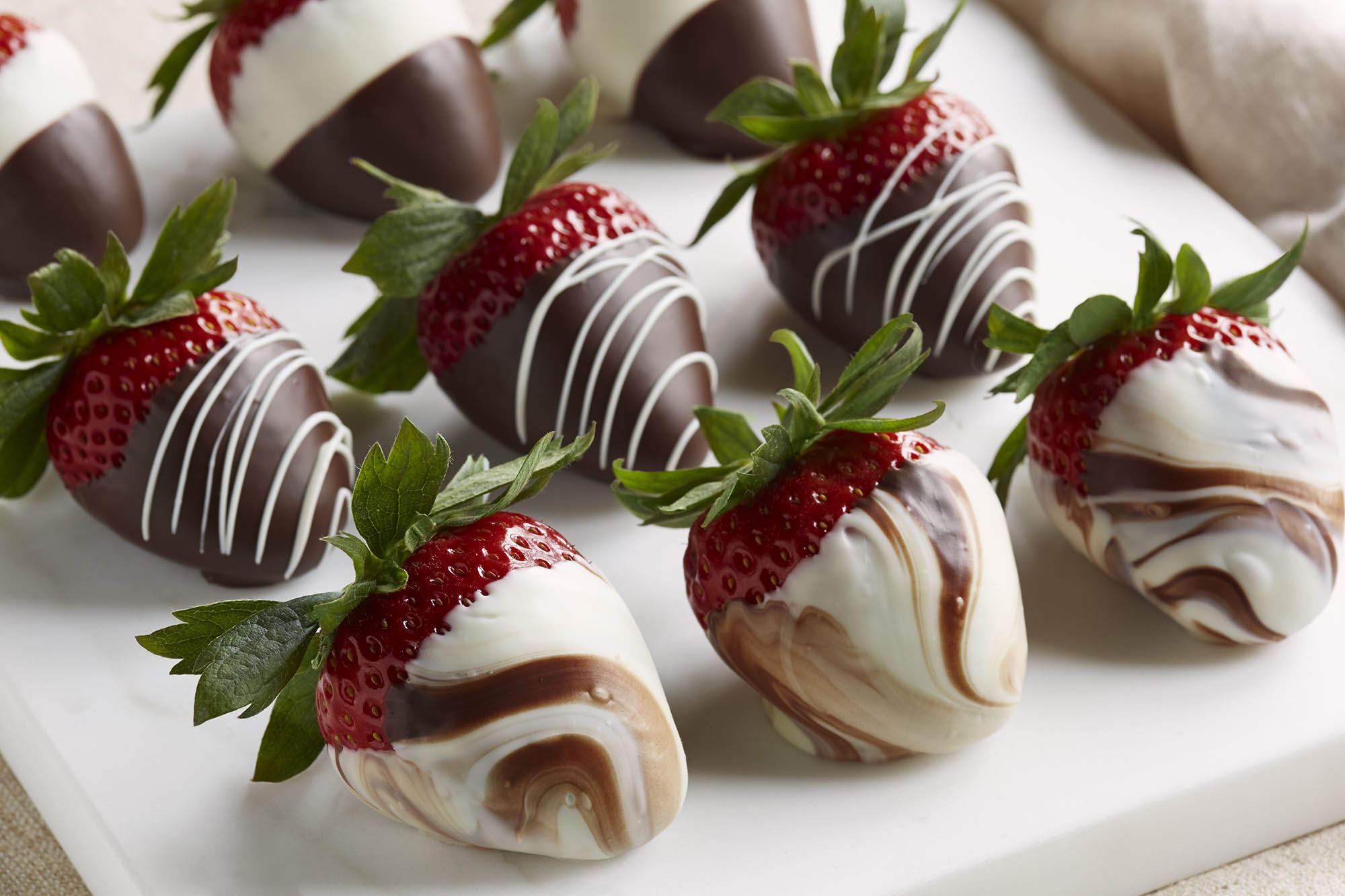 Organic Chocolate Covered Strawberries