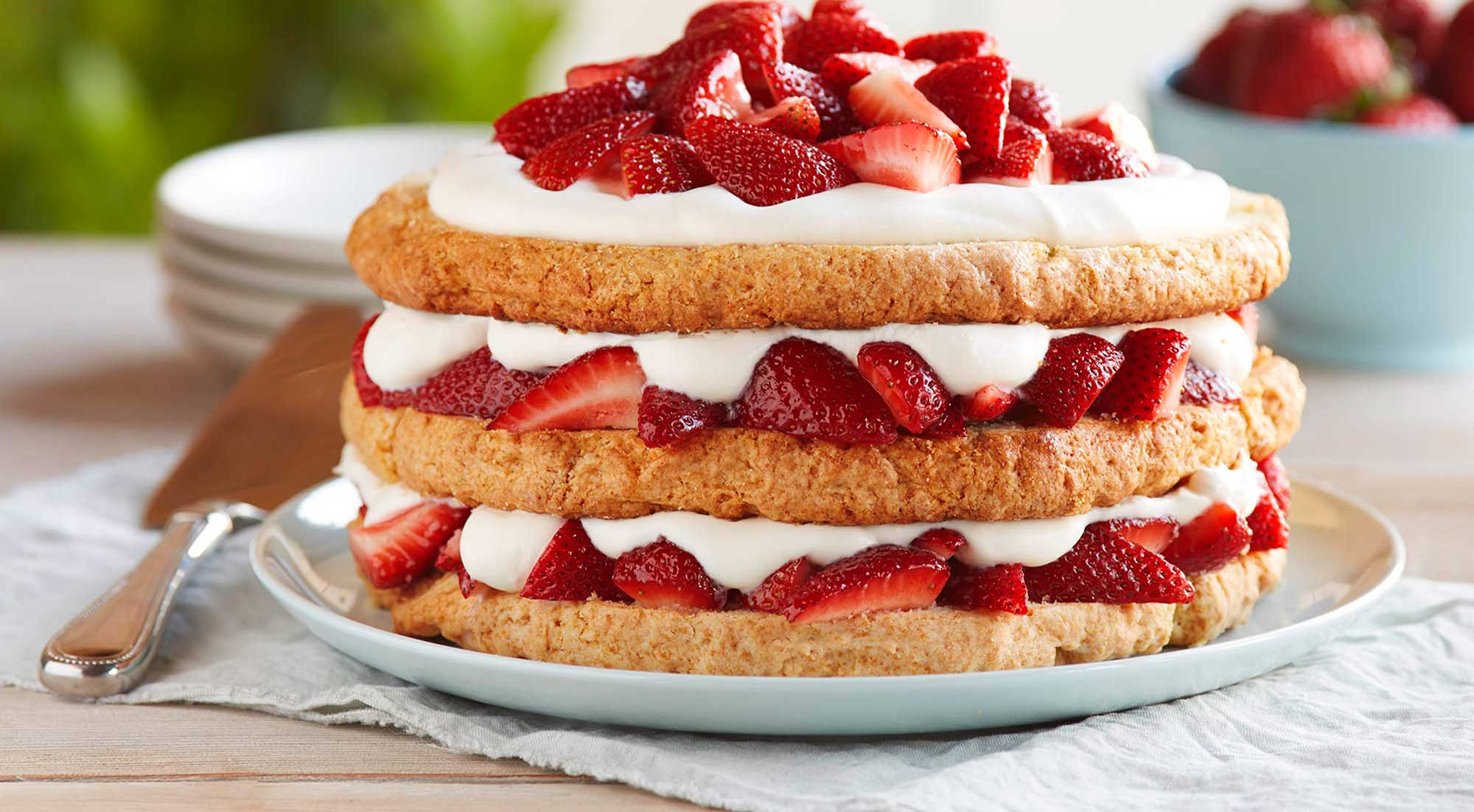 Strawberry Cream Sponge Cake Recipe Best