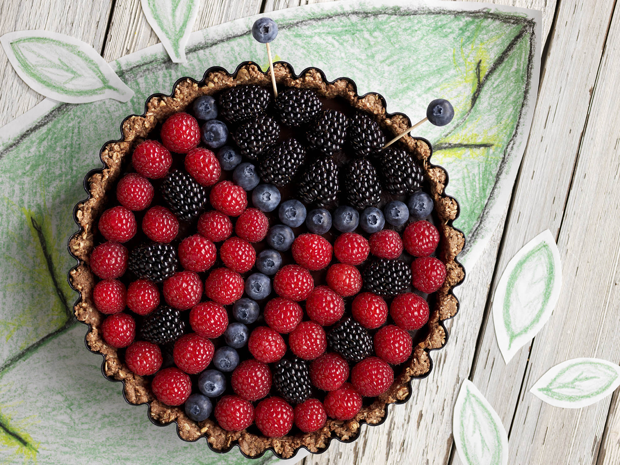 Healthy Cakes With Fruit