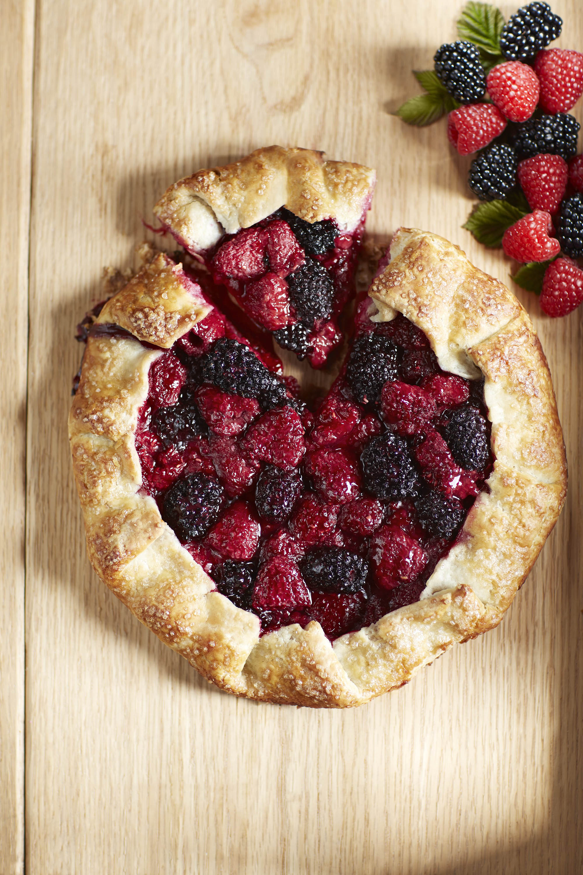 Berry Crostata Recipe With Raspberry Amp Blackberry Driscoll S
