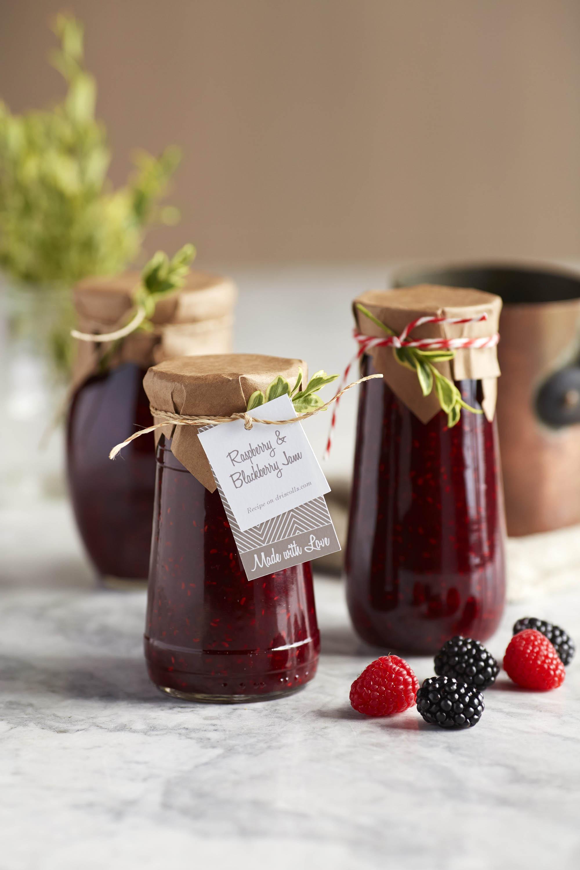 Spiced Blackberry Raspberry Jam,Kitchen Small House Renovation Ideas