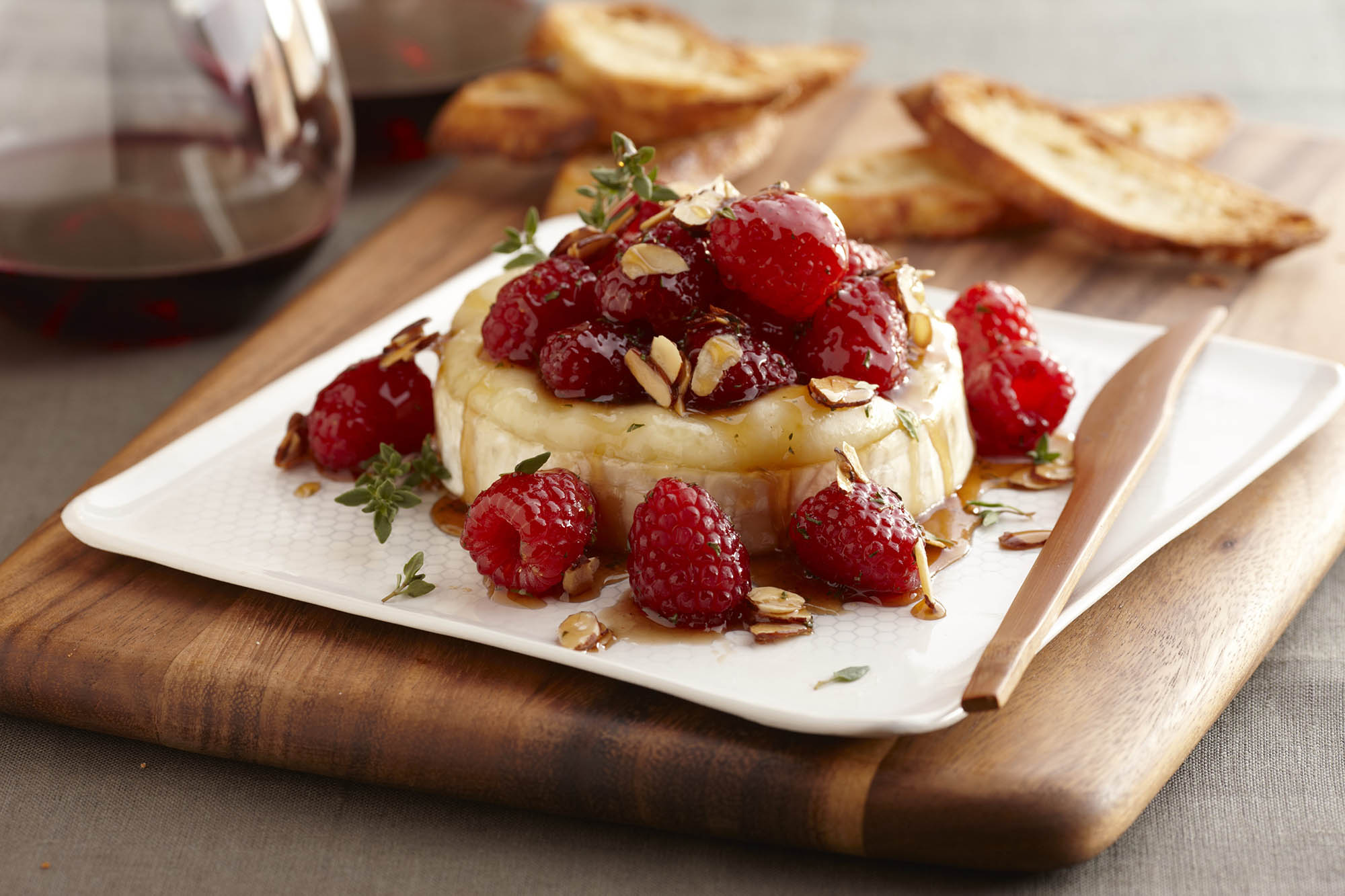 Image result for baked brie with raspberry