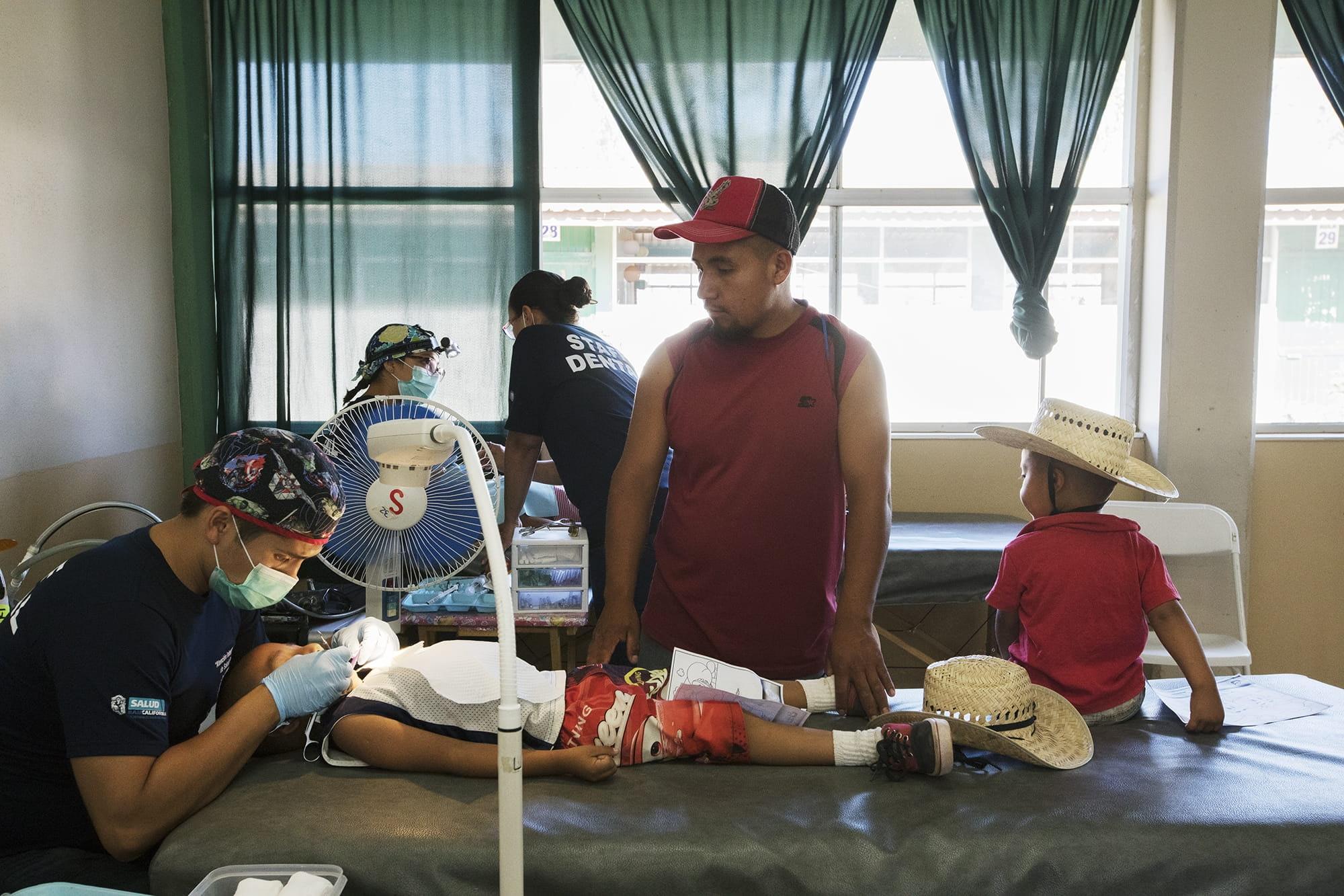 Dental examination in Baja