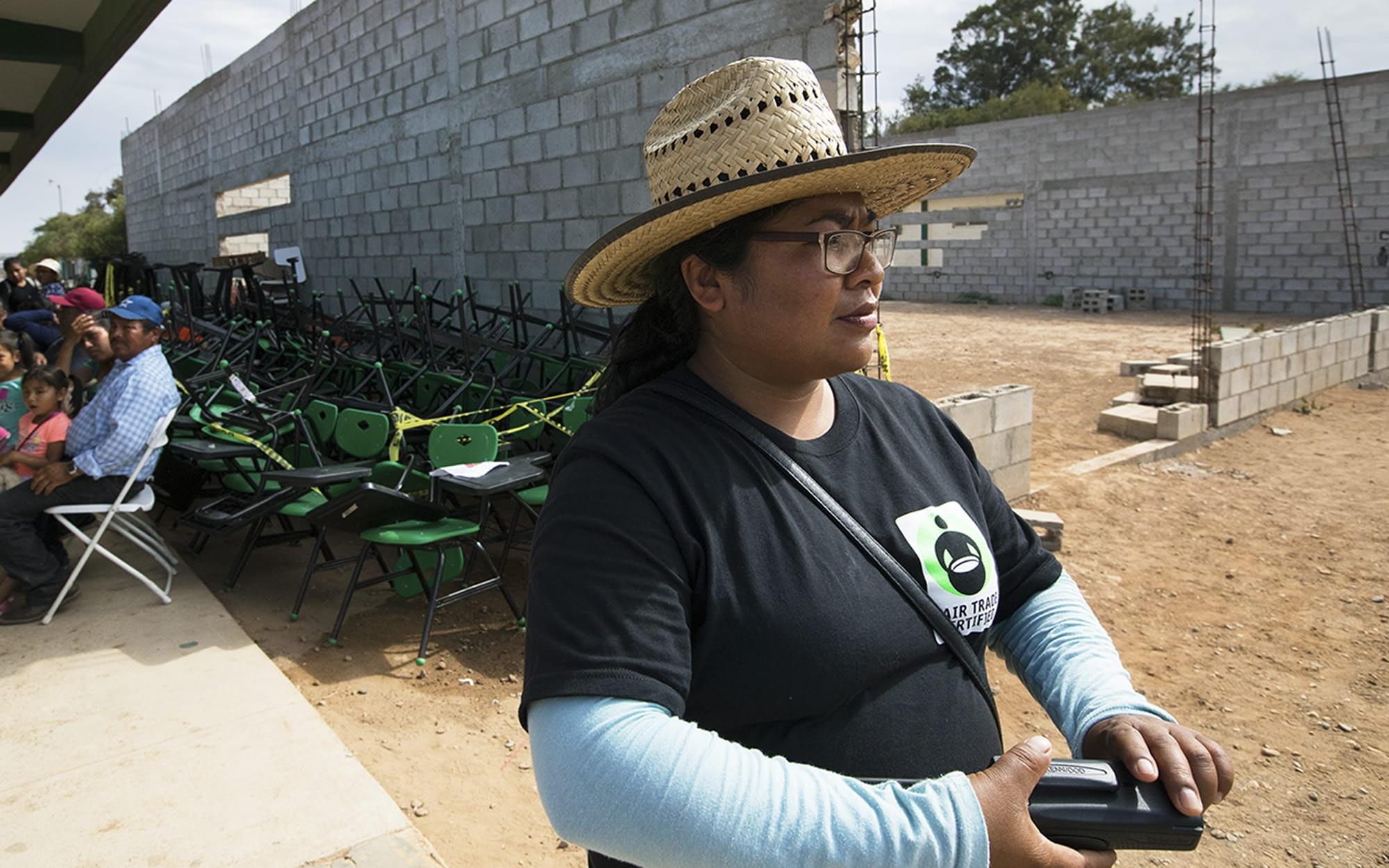 Saidel Hernandez of Fair Trade Baja