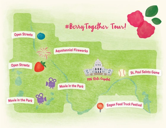 Berry Mobile Tour Map