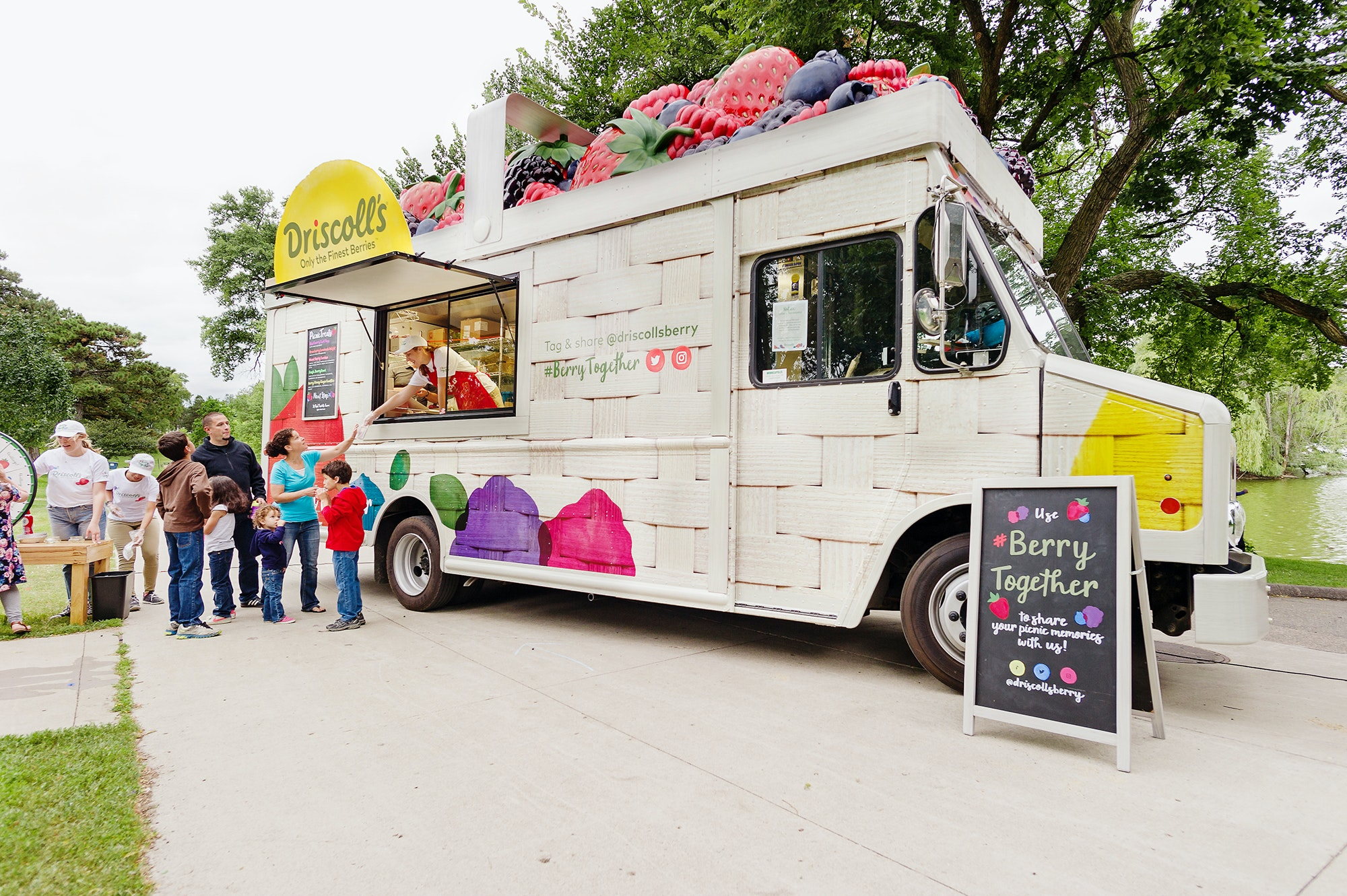 Berry Mobile Truck