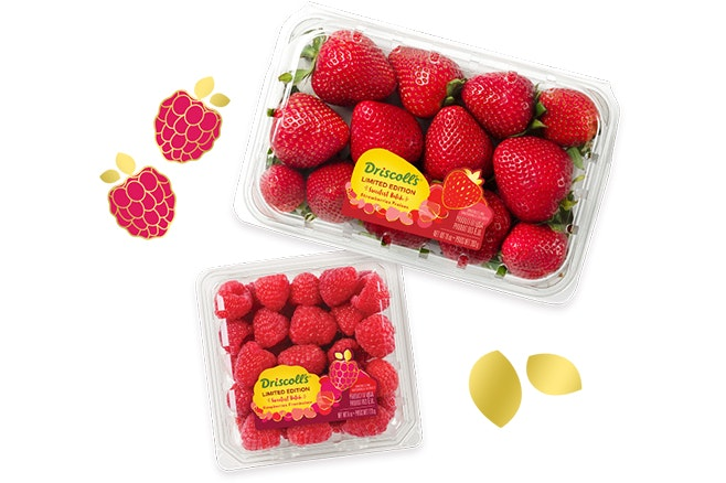 Limited Edition Strawberries and raspberries