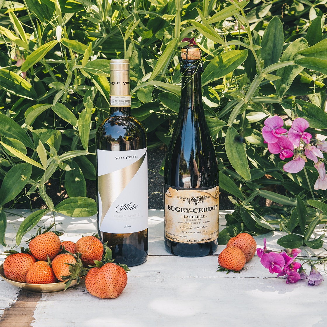 Driscoll's rose berries and wine pairings
